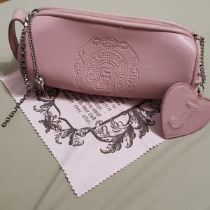 Juicy Couture Pink Leather Sunglasses Case